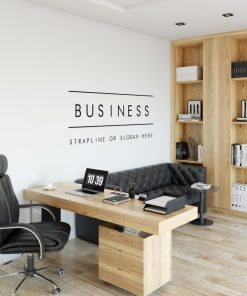 Personalised Signs no154 - Wall Stickers Business Signs 3