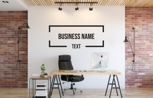 Personalised Signs no155 - Wall Stickers Business Signs 2