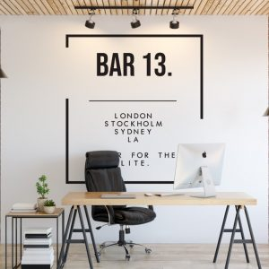Personalised Signs no157 - Wall Stickers Business Signs 1