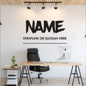 Personalised Signs no158 - Wall Stickers Business Signs 2