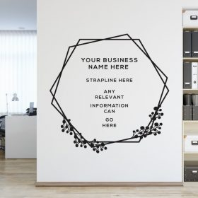 Personalised Signs no160 - Wall Stickers Business Signs 2