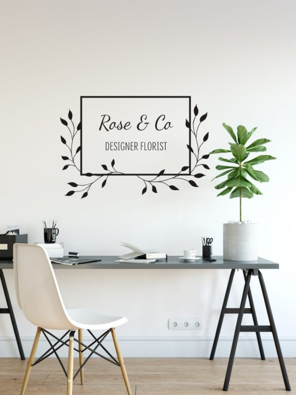 Personalised Signs no161 - Wall Stickers Business Signs 1