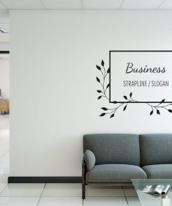 Personalised Signs no161 - Wall Stickers Business Signs 2