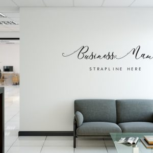 Personalised Signs no163 - Wall Stickers Business Signs 1