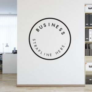Personalised Signs no165 - Wall Stickers Business Signs 2