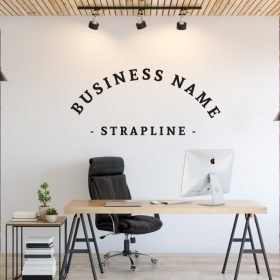 Personalised Signs no166 - Wall Stickers Business Signs 2