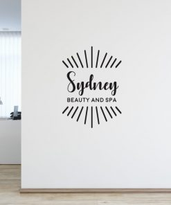 Personalised Signs no167 - Wall Stickers Business Signs 1