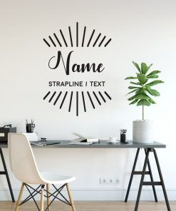 Personalised Signs no167 - Wall Stickers Business Signs 2