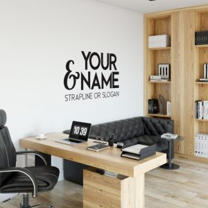 Personalised Signs no169 - Wall Stickers Business Signs 2