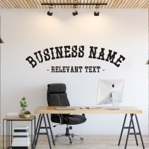 Personalised Signs no170 - Wall Stickers Business Signs 1