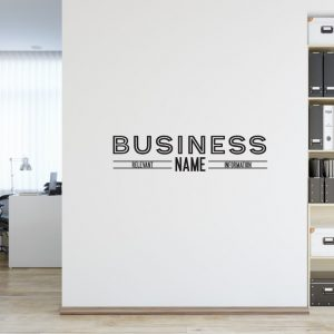Personalised Signs no171 - Wall Stickers Business Signs 2
