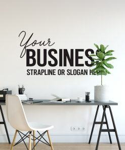 Personalised Signs no172 - Wall Stickers Business Signs 1