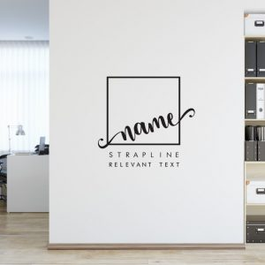 Personalised Signs no174 Wall Stickers Business Signs 1