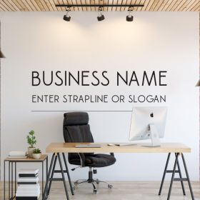 Personalised Signs no177 Wall Stickers Business Signs 1