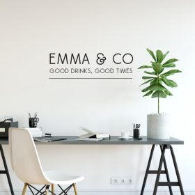 Personalised Signs no177 Wall Stickers Business Signs 2