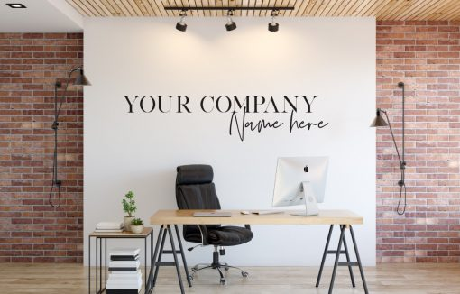 Personalised Signs no178 Wall Stickers Business Signs 2
