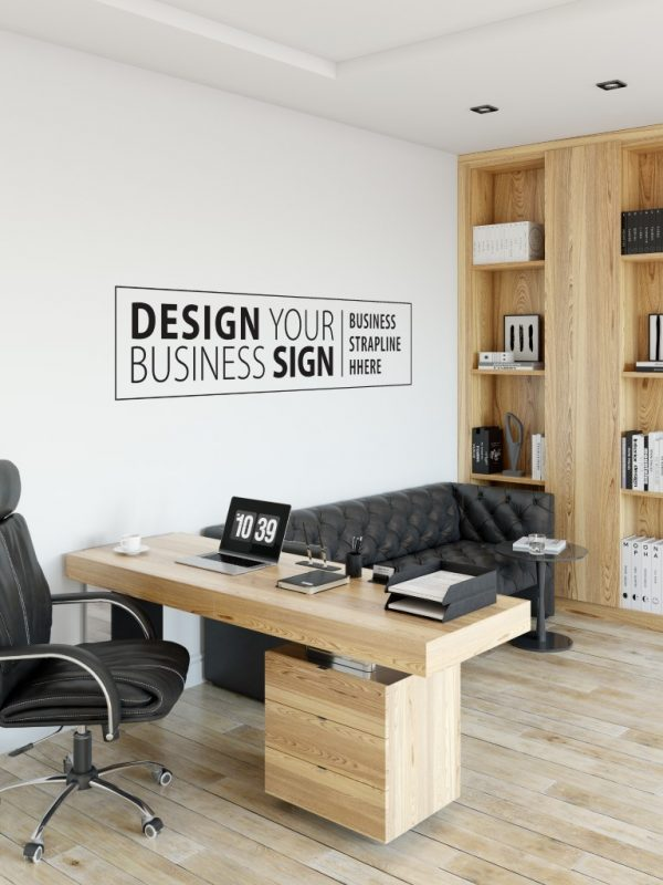 Personalised Signs no1b - Wall Stickers Business Signs 1