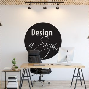 Personalised Signs no2 - Wall Stickers Business Signs 1