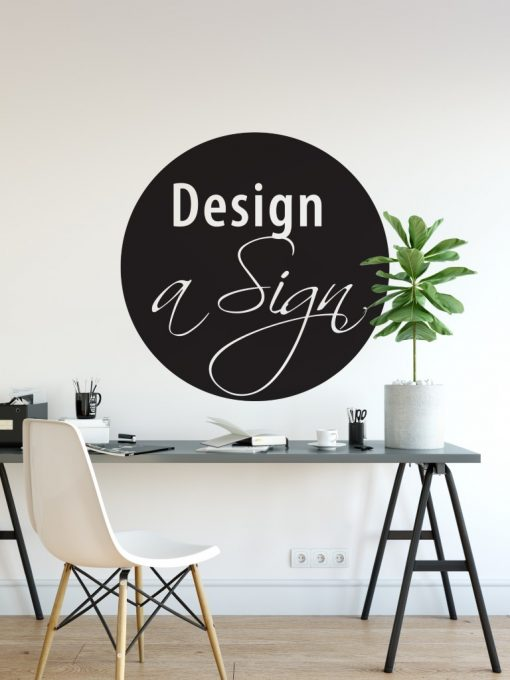 Personalised Signs no2 - Wall Stickers Business Signs 2