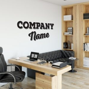 Personalised Signs no28 - Wall Stickers Business Signs 2