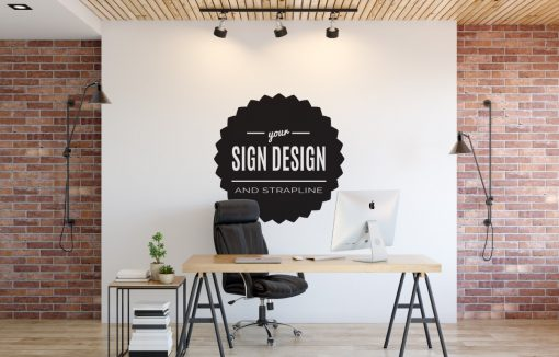 Personalised Signs no3 - Wall Stickers Business Signs 2