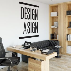 Personalised Signs no4 - Wall Stickers Business Signs 2