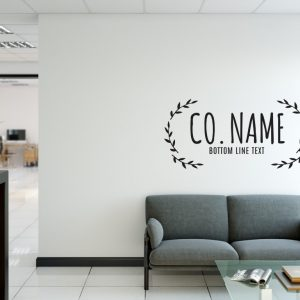 Personalised Signs no6 - Wall Stickers Business Signs 1