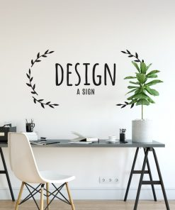 Personalised Signs no6 - Wall Stickers Business Signs 2
