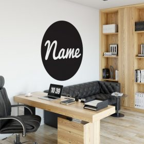 Personalised Signs no7 - Wall Stickers Business Signs 2