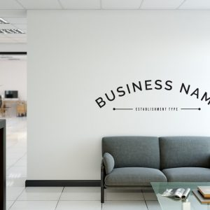 Personalised Signs no9 - Wall Stickers Business Signs 1