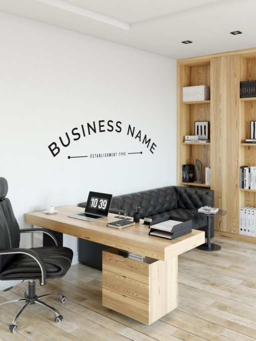 Personalised Signs no9 - Wall Stickers Business Signs 2