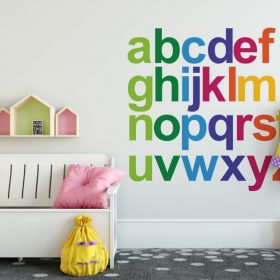 Rainbow Alphabet 1d Wall Sticker