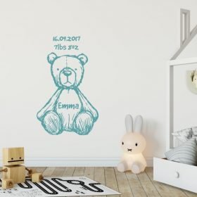 teddy bear wall sticker