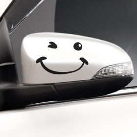 Wing Mirror Wink 2-01 Wall Sticker