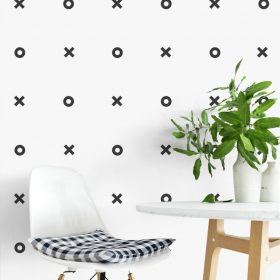X O Wall Stickers 1g Wall Sticker
