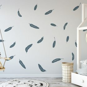 falling feathers 2 Wall Sticker