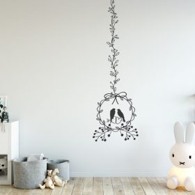 Hanging Birds wall sticker