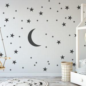 stars and moon Wall Sticker