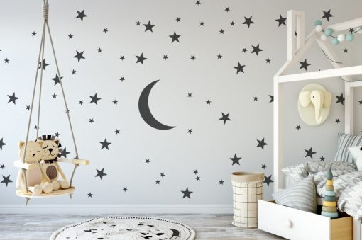 stars and moon Wall Sticker