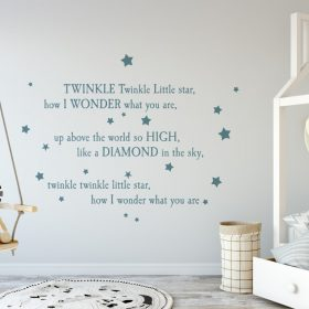 twinkle twinkle little star 3 Wall Sticker