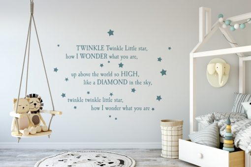 twinkle twinkle little star 3 Wall Sticker