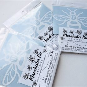 Manchester Bee Stickers Retail Pack Trade Wholesale