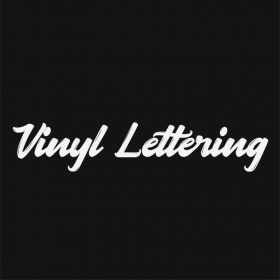 VINYL LETTERING 102-01 - Custom Car Wall Window Stickers