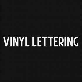 VINYL LETTERING 148-01 - Custom Car Wall Window Stickers