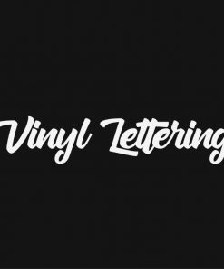 VINYL LETTERING 15-01 - Custom Car Wall Window Stickers
