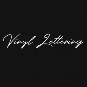 VINYL LETTERING 41-01 - Custom Car Wall Window Stickers