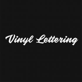 VINYL LETTERING 5-01 - Custom Car Wall Window Stickers