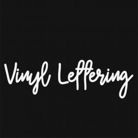 VINYL LETTERING 57-01 - Custom Car Wall Window Stickers
