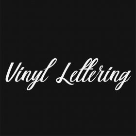 VINYL LETTERING 66-01 - Custom Car Wall Window Stickers