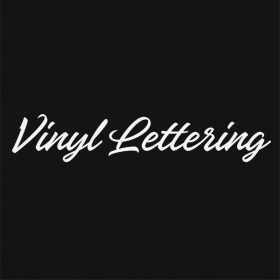 VINYL LETTERING 69-01 - Custom Car Wall Window Stickers